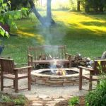 55 Awesome Backyard Fire Pit Ideas For Comfortable Relax (54)