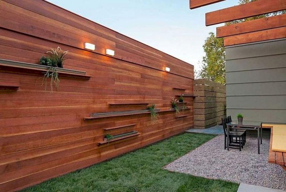 60 Awesome Backyard Privacy Design and Decor Ideas (42)