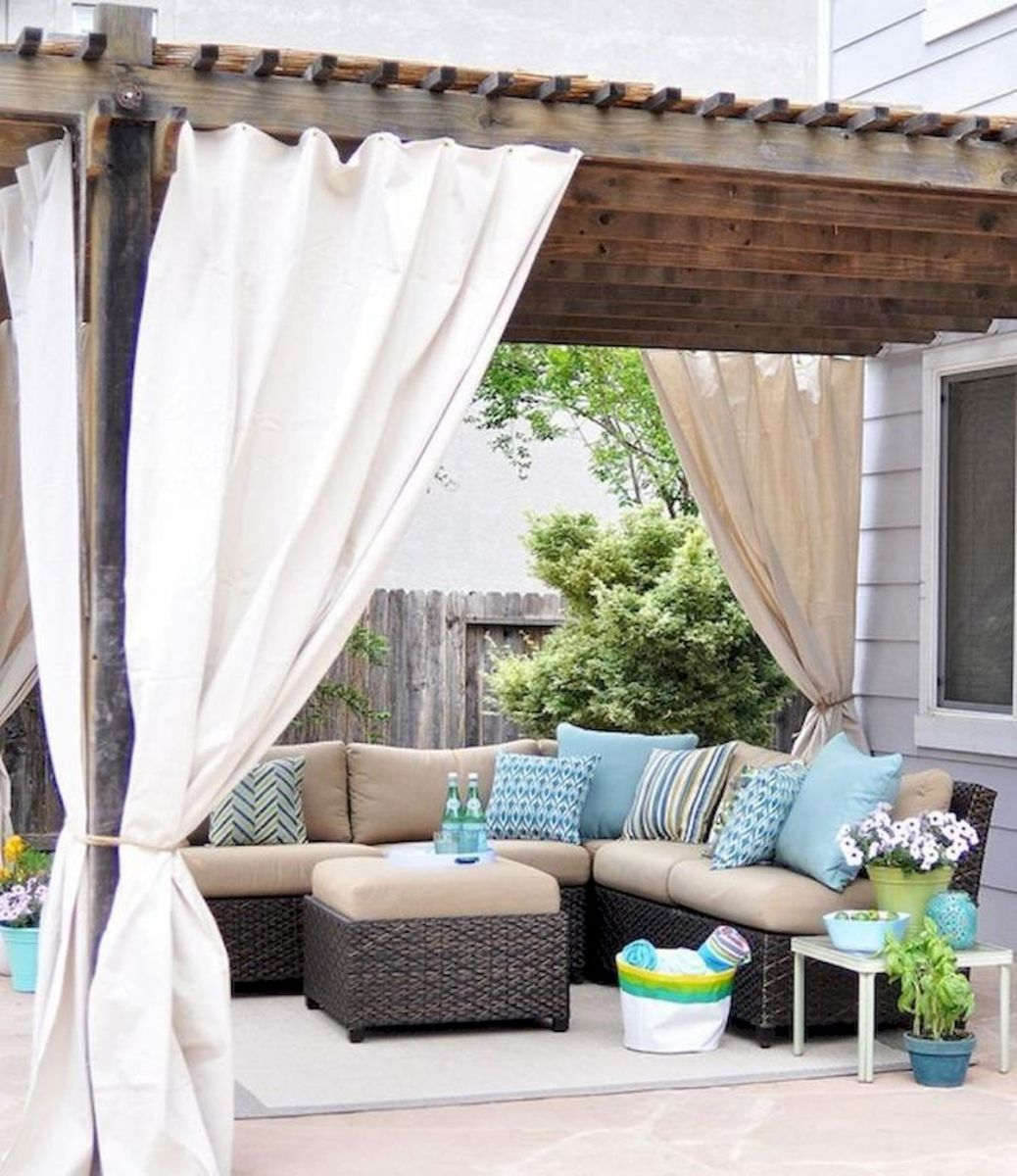 60 Awesome Backyard Privacy Design and Decor Ideas (8)