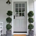 90 Awesome Front Door Colors and Design Ideas (43)