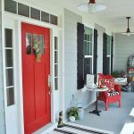 90 Awesome Front Door Colors and Design Ideas (68)