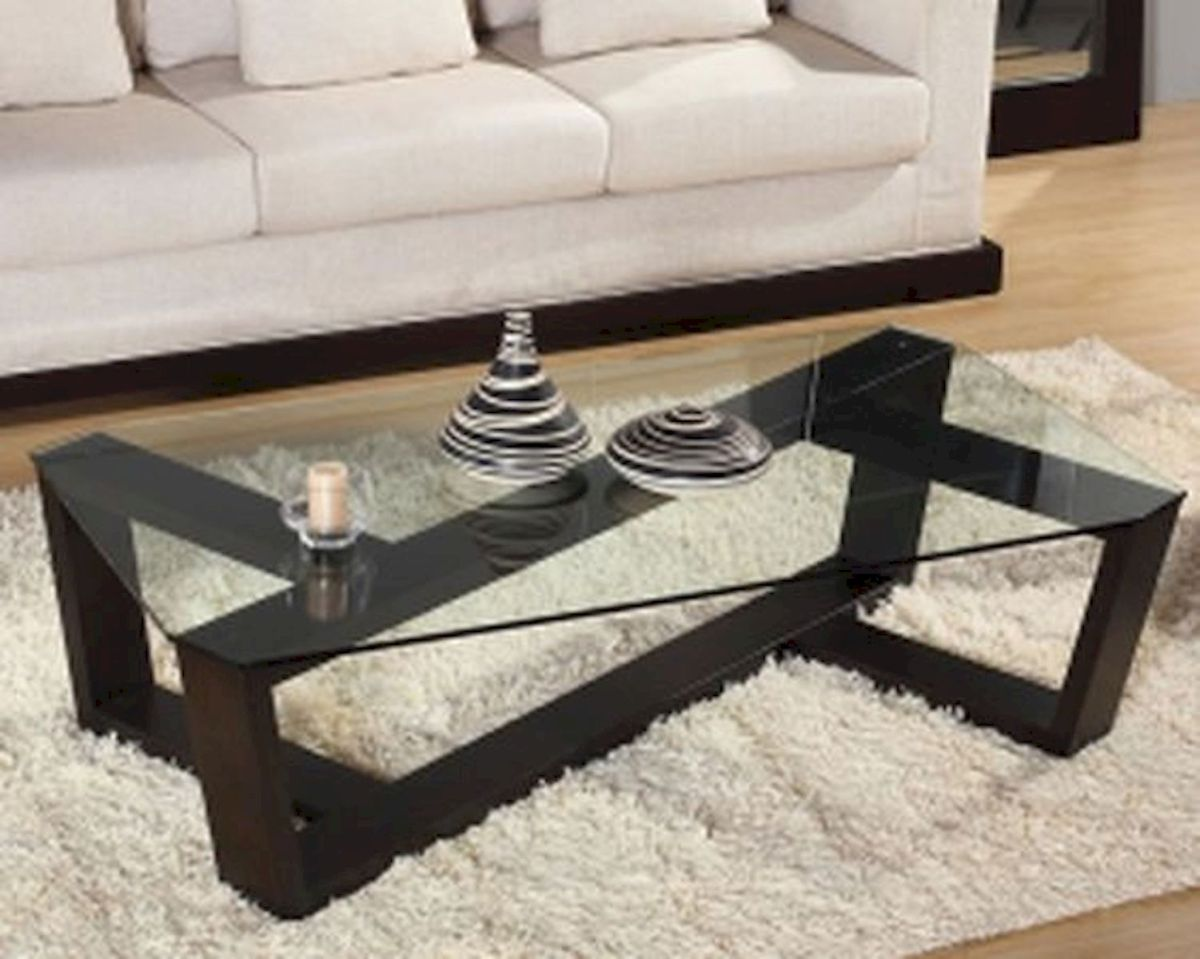 40 Awesome Modern Glass Coffee Table Design Ideas For Your Living