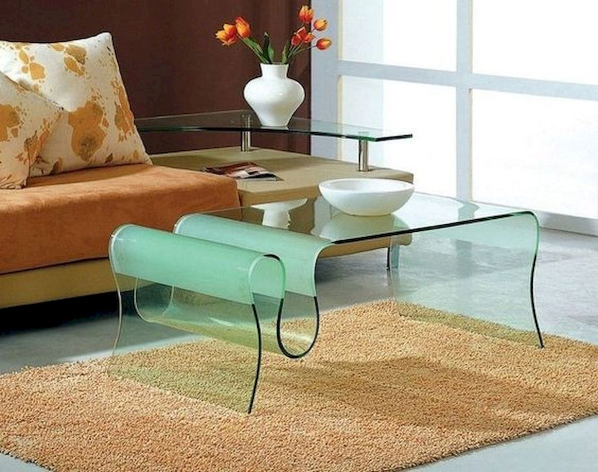 40 Awesome Modern Glass Coffee Table Design Ideas For Your Living Room (3)