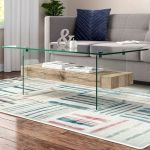 40 Awesome Modern Glass Coffee Table Design Ideas For Your Living Room (37)