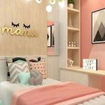 40 Cute Small Bedroom Design and Decor Ideas for Teenage Girl (15)