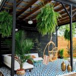 50 Awesome Modern Backyard Garden Design Ideas With Hanging Plants (20)