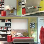 60 Brilliant Space Saving Ideas For Small Bedroom (56)