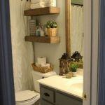 50 Awesome Modern Farmhouse Bathroom Remodel Ideas (32)