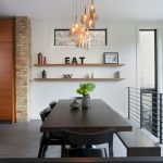 80 Elegant Modern Dining Room Design And Decor Ideas (24)