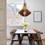 80 Elegant Modern Dining Room Design and Decor Ideas (26)