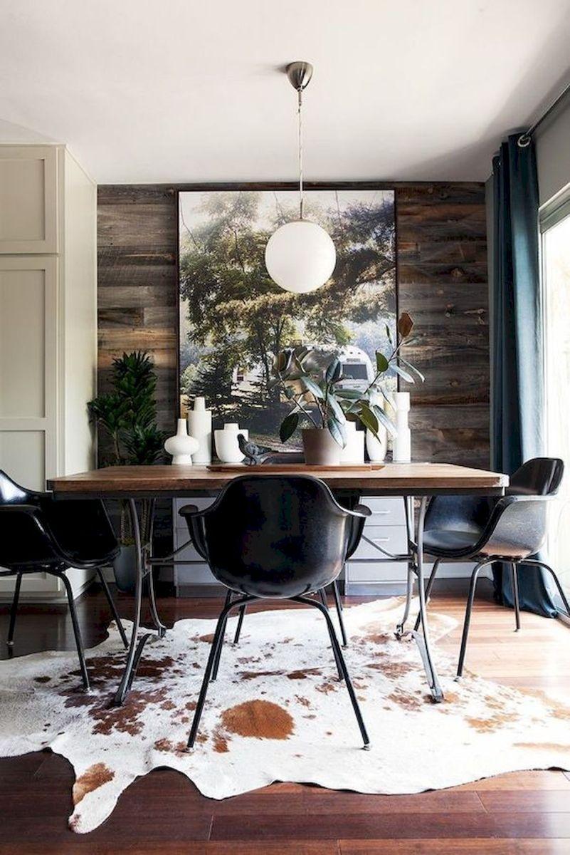 80 Elegant Modern Dining Room Design and Decor Ideas (4)