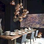 80 Elegant Modern Dining Room Design and Decor Ideas (49)