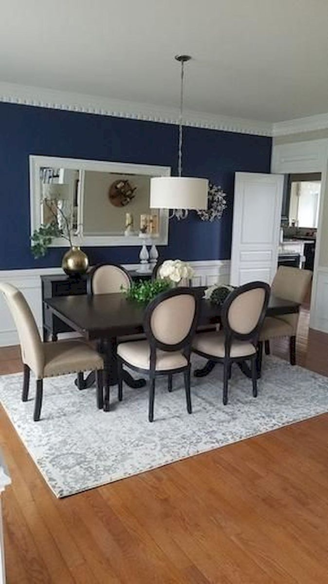 80 Elegant Modern Dining Room Design and Decor Ideas (57)