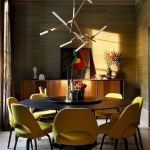 80 Elegant Modern Dining Room Design And Decor Ideas (63)