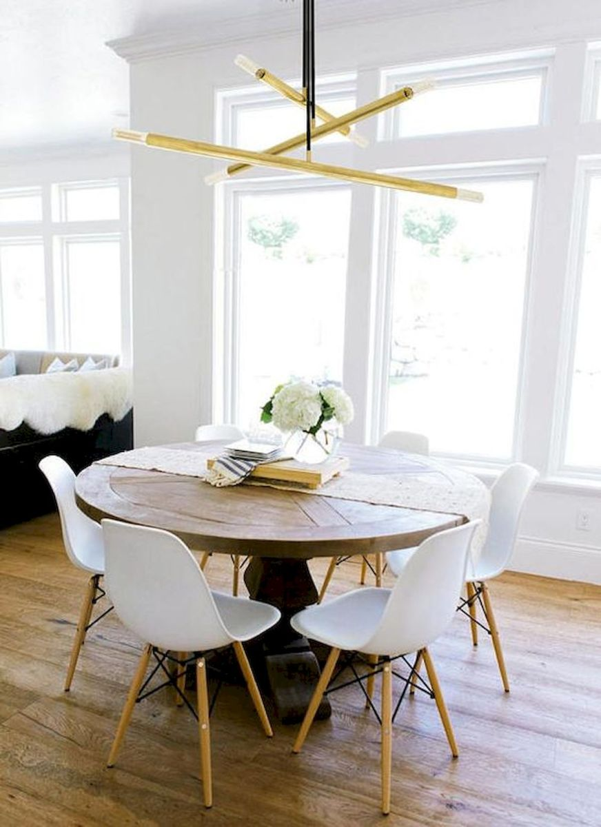80 Elegant Modern Dining Room Design and Decor Ideas (8)
