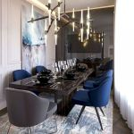 80 Elegant Modern Dining Room Design And Decor Ideas (9)