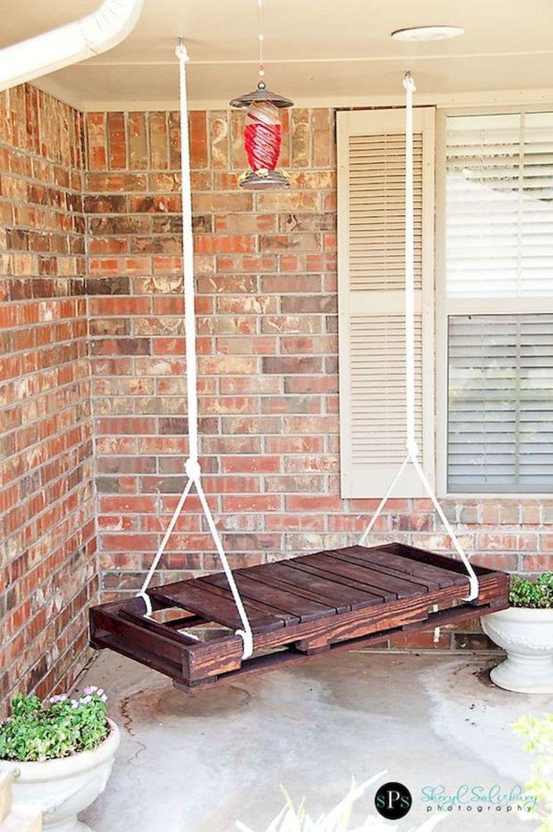 30 Fantastic DIY Wooden Pallet Swing Chair Ideas (22)