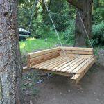 30 Fantastic DIY Wooden Pallet Swing Chair Ideas (23)