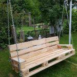 30 Fantastic DIY Wooden Pallet Swing Chair Ideas (7)