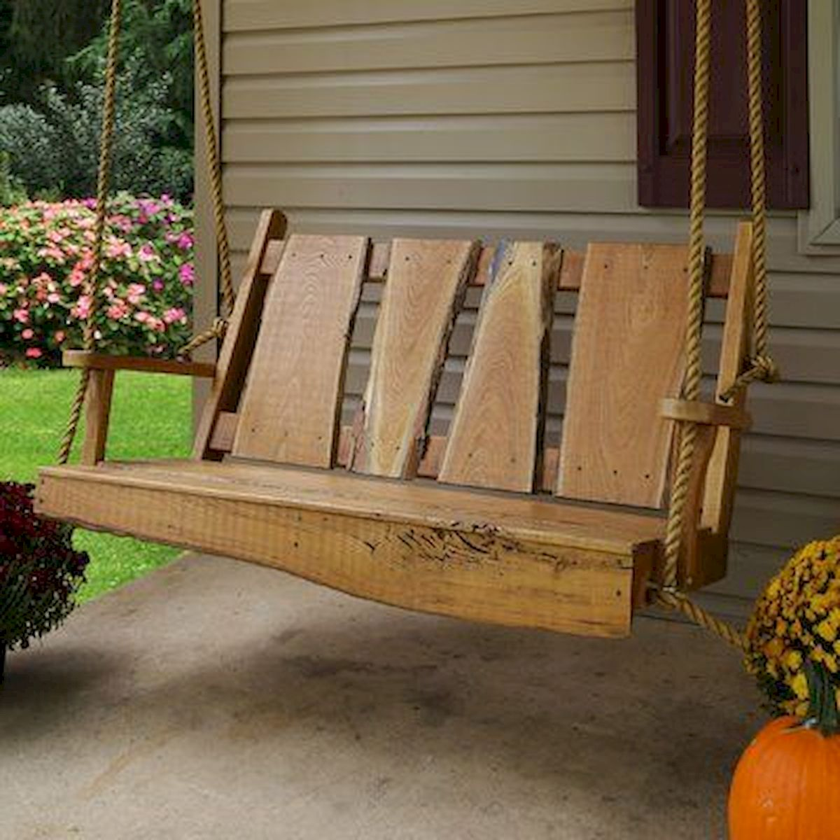 30 Fantastic DIY Wooden Pallet Swing Chair Ideas (9)