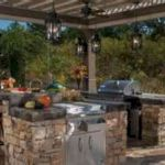 30 Fantastic Outdoor Kitchen Ideas and Design On A Budget (21)