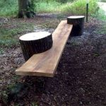 40 Fantastic Outdoor Bench Ideas For Backyard and Front Yard Garden (20)