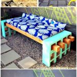 40 Fantastic Outdoor Bench Ideas For Backyard and Front Yard Garden (24)