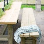 40 Fantastic Outdoor Bench Ideas For Backyard and Front Yard Garden (28)