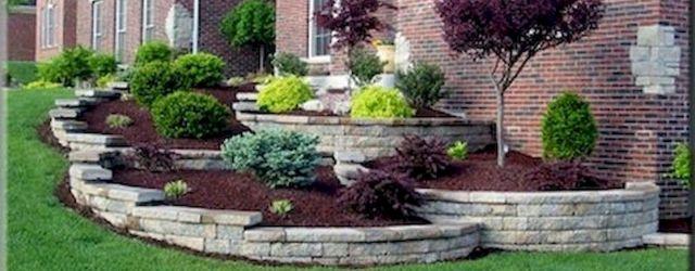 48 Stunning Front Yard Landscaping Ideas That Make Beautiful Garden (1)