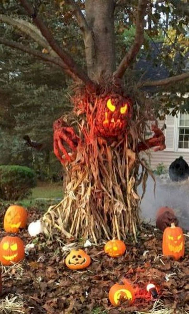 35 Cool Fall Outdoor Decor Ideas You Will Like (10)