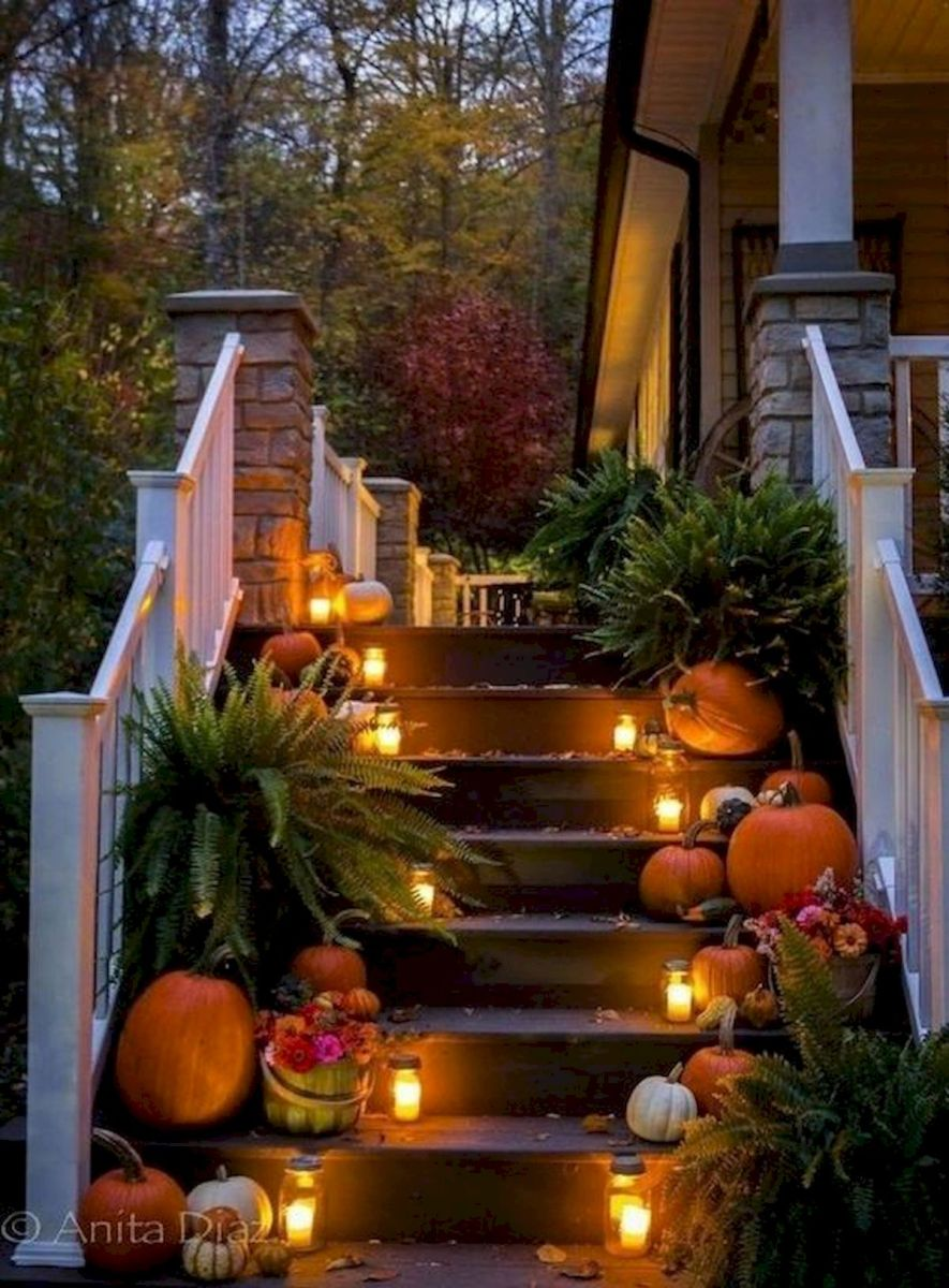 35 Cool Fall Outdoor Decor Ideas You Will Like (17)