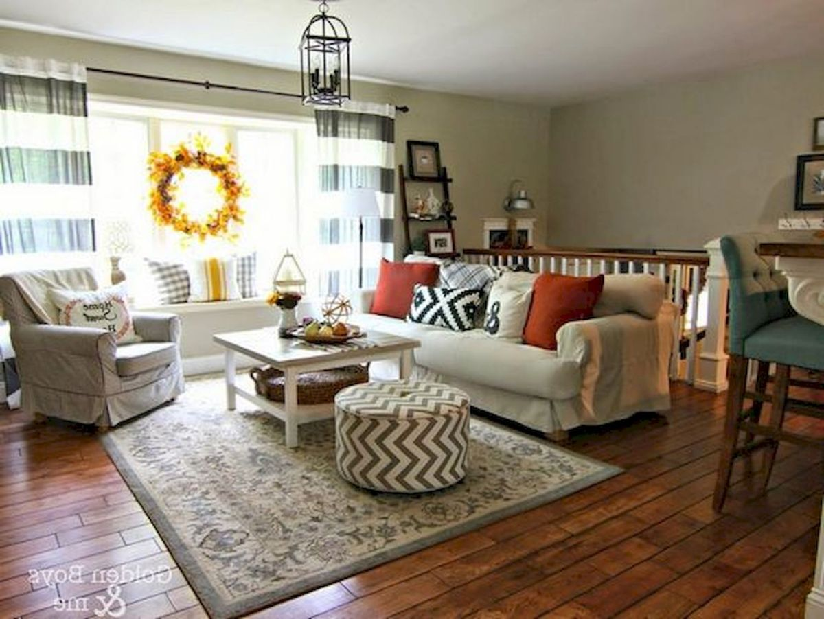 40 Awesome Fall Decoration Ideas For Living Room (34)