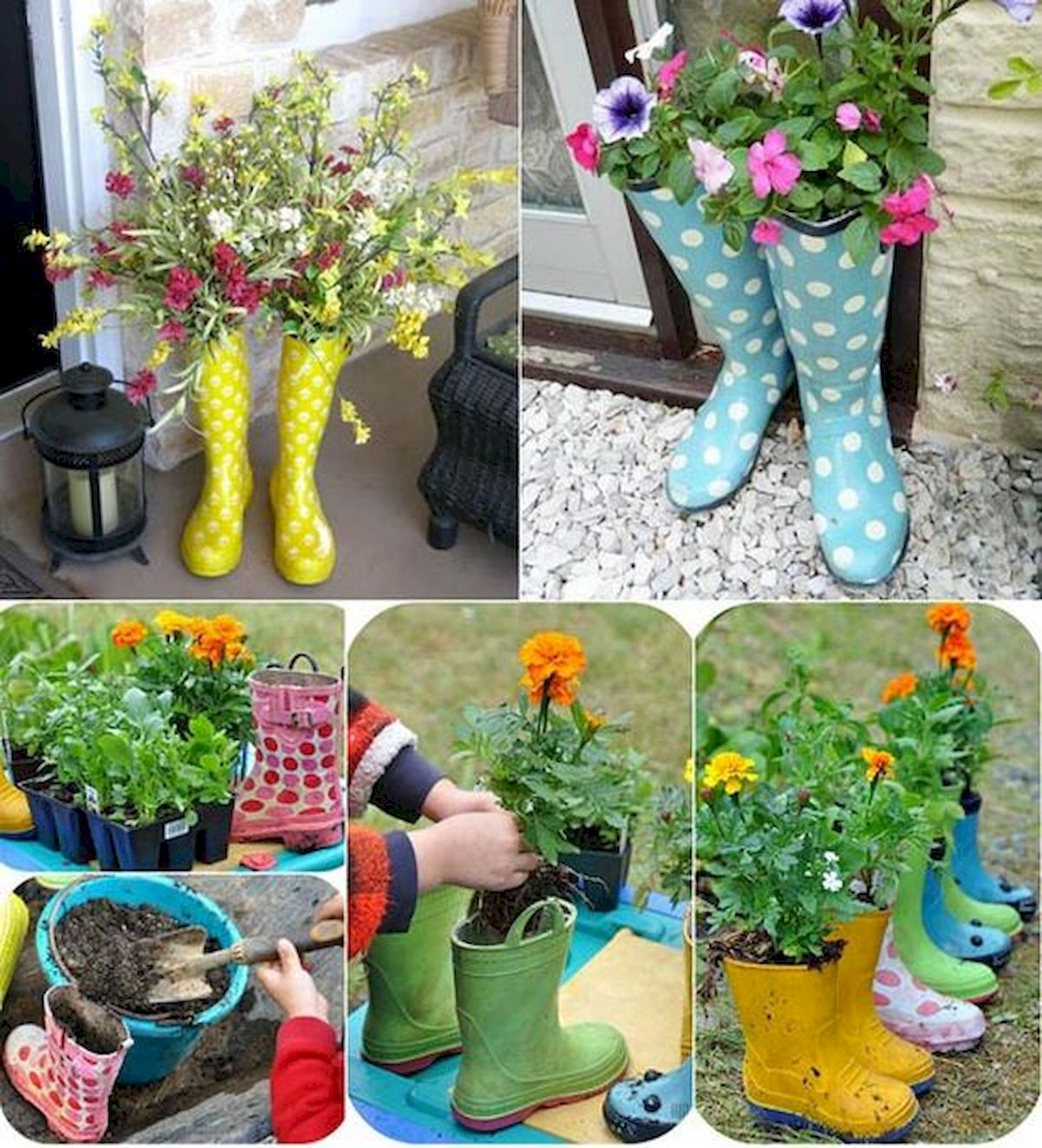 20 Awesome Planter Ideas For Your Front Porch (3)