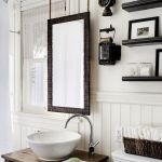 26 Beautiful Bathroom Mirror Ideas That You Will Love (21)