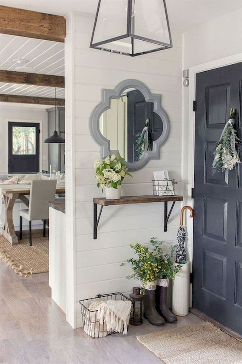 30 Awesome Small Apartment Design and Decor Ideas With Farmhouse Styles (10)
