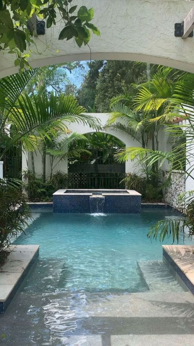 30 Awesome Backyard Swimming Pools Design Ideas (10)