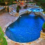 30 Awesome Backyard Swimming Pools Design Ideas (6)