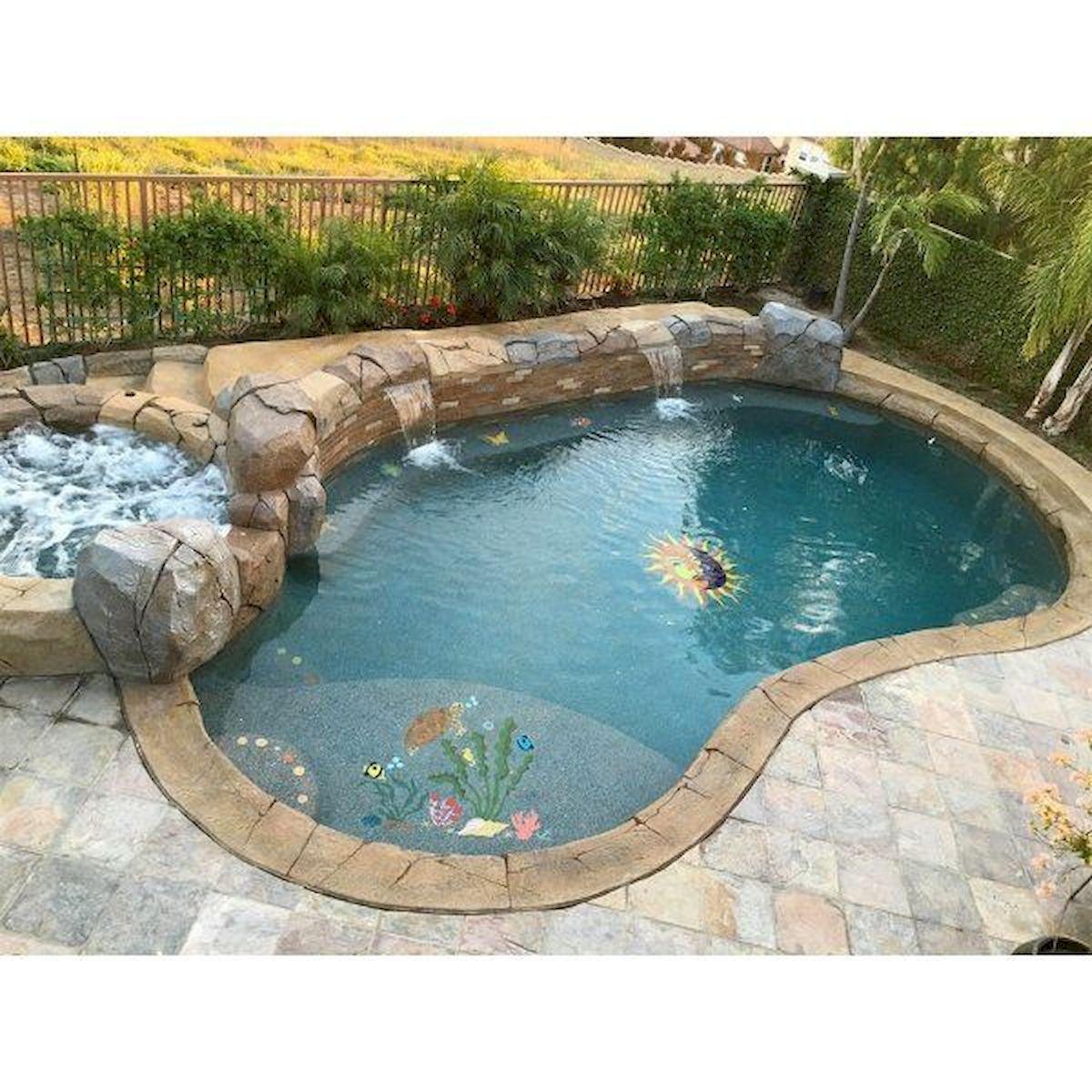 30 Awesome Backyard Swimming Pools Design Ideas (9)