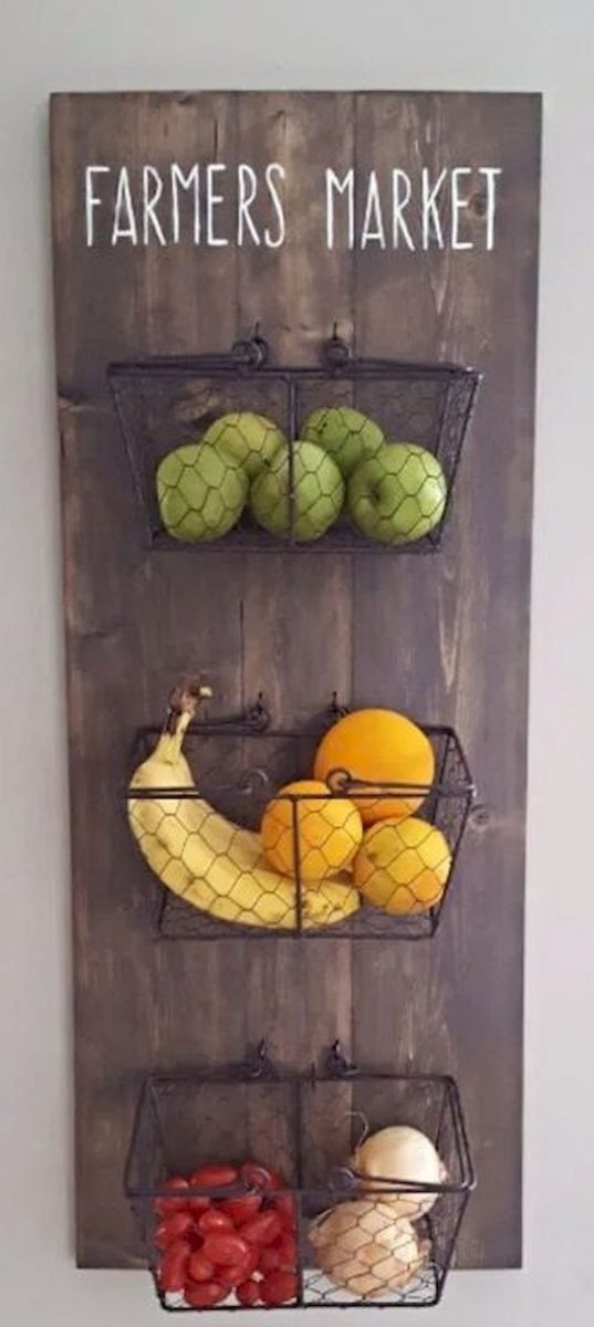 30 Best Fruit and Vegetable Storage Ideas for Your Kitchen (18)