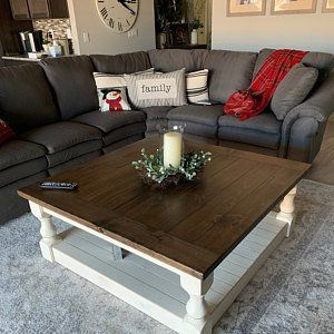 20 Best Farmhouse Coffee Table Decor Ideas (7)