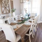 20 Best Farmhouse Dining Room Table Decor Ideas (10)