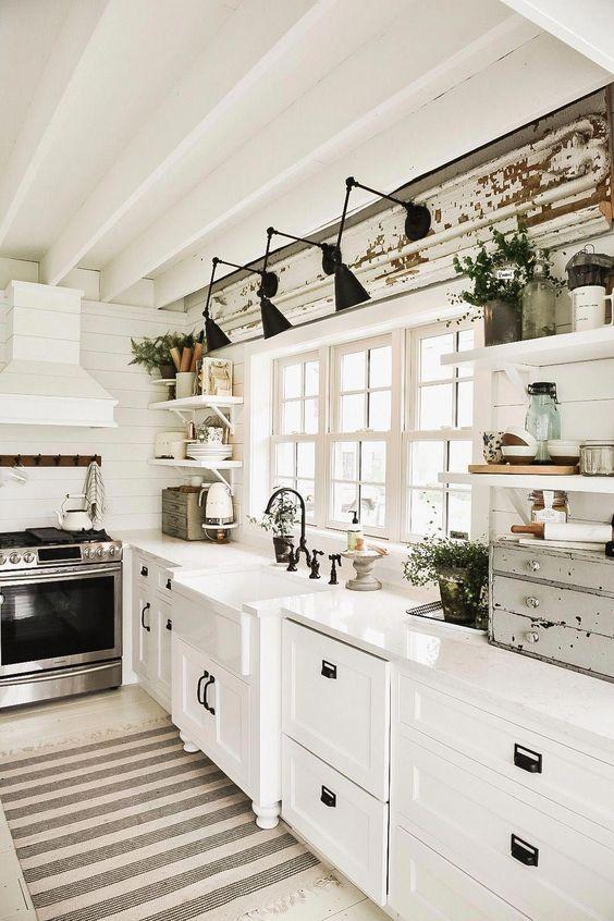 20 Best Modern Farmhouse Kitchens Decor Ideas (3)