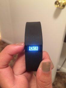 Impressive Fitbit!