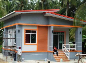 budget storey simple bedroom single bungalow plan philippines layout construction designs ideal plans story costs today reduced rooms houseanddecors roof
