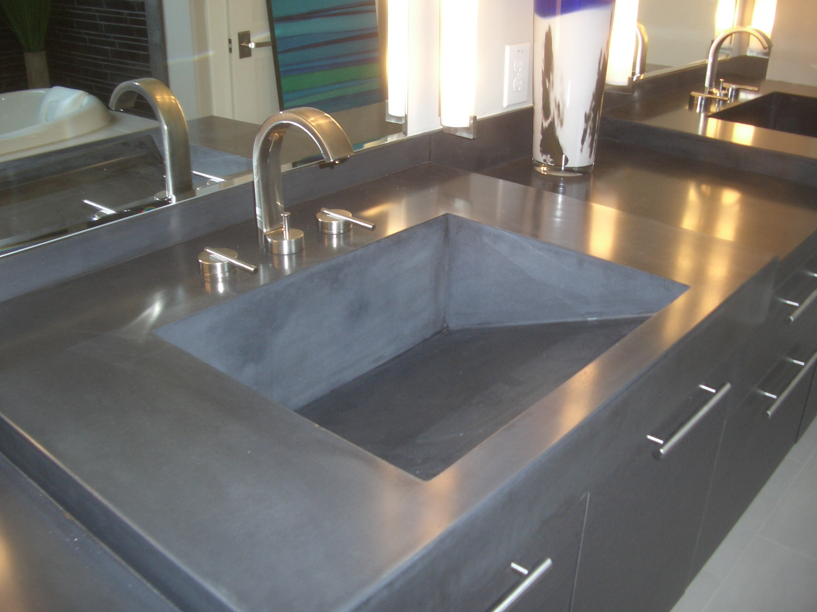 concrete kitchen countertops small remodeling ideas green countertop options house 43earth
