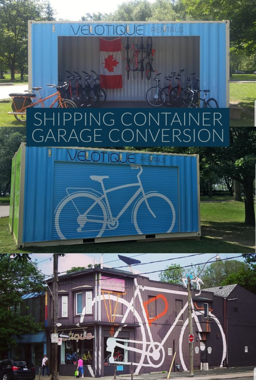 Shipping Container Garage Door Ideas