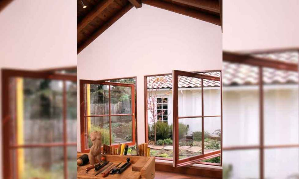 wood exterior window trim ideas
