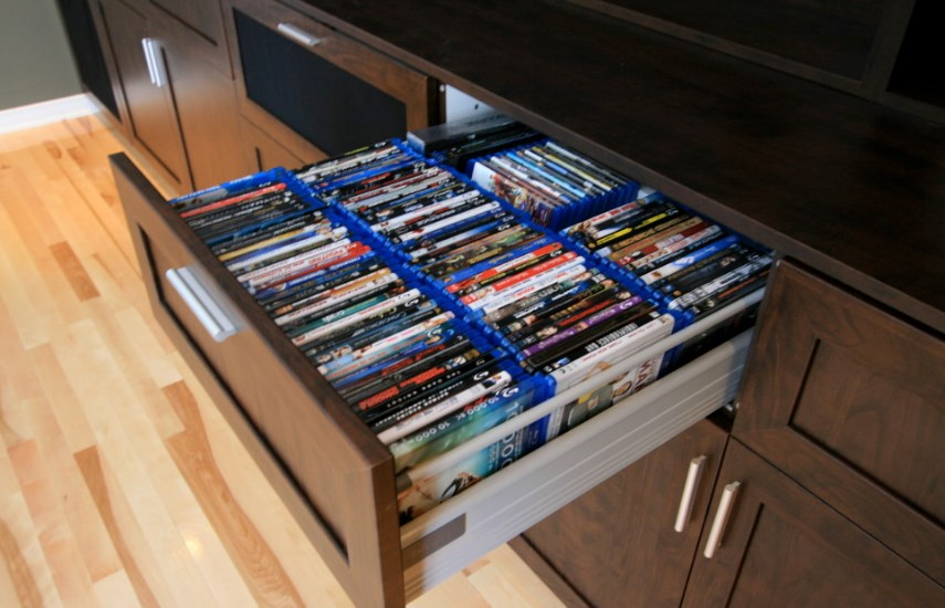 cheap dvd storage ideas