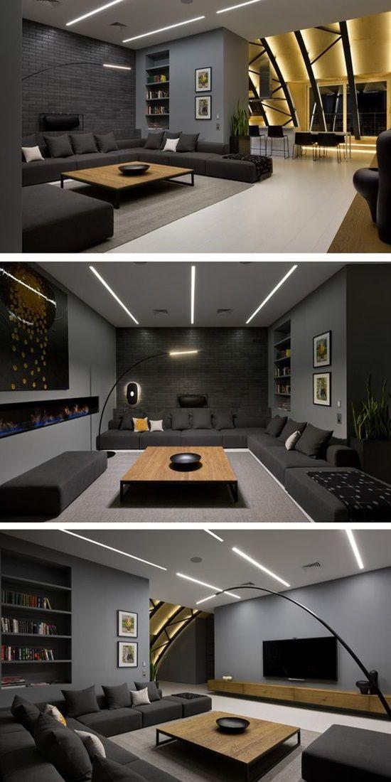 Media Room Colors Ideas