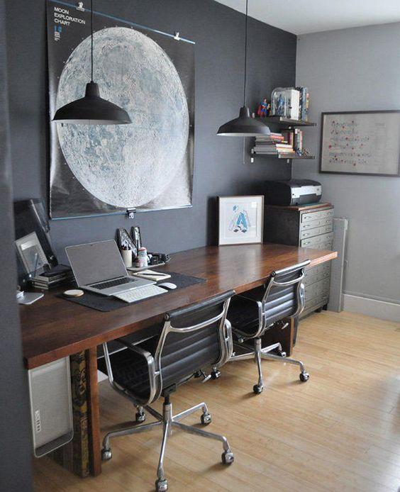 Modern Study Room Ideas & 30+ Study Room Design Ideas (Guide \u0026 Tips for decorating a study ...